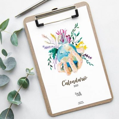Mock up clipboard and green eucalyptus leaves on white background top view.  copy space. flat lay